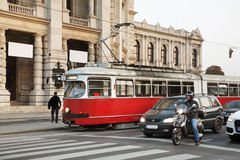 Ring Road in Vienna. Austria Royalty Free Stock Photography