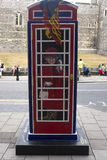 Ring a Royal phone box Royalty Free Stock Photos