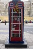 Ring a Royal phone box Royalty Free Stock Photos