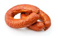 Ring sausage Royalty Free Stock Photos