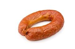 Ring sausage Royalty Free Stock Image