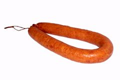 Ring sausage Stock Photography