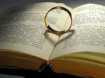 Ring and schadow hearts royalty free stock images