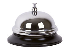 Ring service bell alarm isolated. stock image