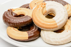 Ring Shaped Biscuits Stock Photos