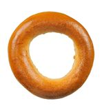 Ring-Shaped Bread Roll (Bagel) Royalty Free Stock Image