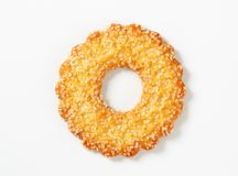 Ring-shaped cookie Stock Photo