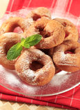 Ring-shaped donuts Stock Image