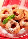 Ring-shaped donuts Stock Images