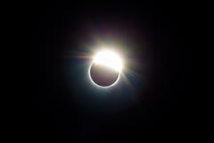 The Ring of 2017 Solar Eclipse USA United states. The ring around the 2017 Solar Eclipse viewed from Central Oregon United States Stock Photos