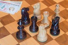 Ring at stake Royalty Free Stock Image