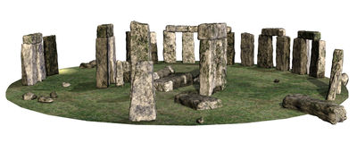 Ring of stones Stock Photography