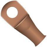 Ring Terminal de cobre Imagem de Stock