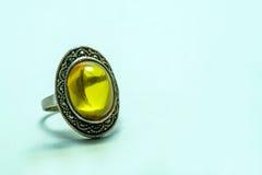 ring topaz stock image