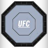 Ring UFC stock illustratie