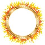 Ring van brand Royalty-vrije Stock Foto
