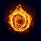 Ring van brand stock illustratie