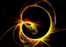 Ring van Licht Stock Afbeeldingen