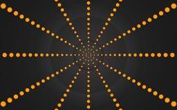 Ring van Oranje Punten, Grafisch Ontwerp - Behang royalty-vrije illustratie