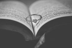 Ring voor huwelijk Royalty-vrije Stock Afbeelding