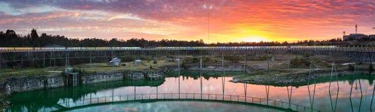 Ring Walk Sunrise royalty free stock photo
