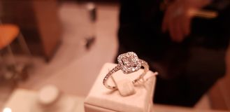 Ring wedding jewelery. Wedding jewelery ring Stock Images