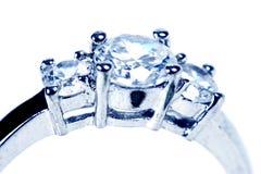 Ring on white Royalty Free Stock Photos