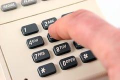 ringande ph signaltouch för 5 Arkivfoto