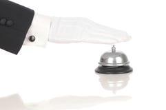 ringande service för klockabetjänt Royaltyfri Bild