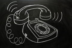 ringande telefon vektor illustrationer