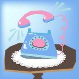ringande telefon Royaltyfria Foton