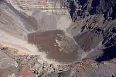 Ringbult de la Fournaise vulkan Arkivbilder