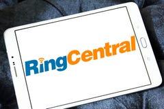 RingCentral公司商标 免版税图库摄影