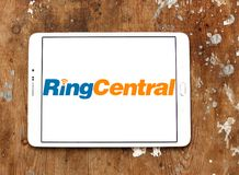 RingCentral公司商标 图库摄影