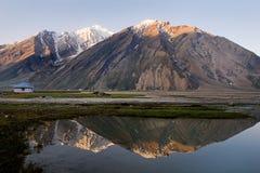 Ringdom village. Ringdom is the village on Zanskar valley, Ladakh, India Royalty Free Stock Photography