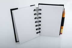 Ringed notepad Stock Image