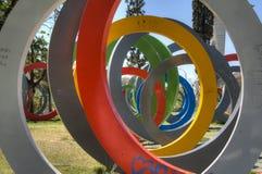 Ringen in Cordoba, Argentinië Stock Foto