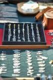 Ringen en tegenhangers Royalty-vrije Stock Afbeeldingen