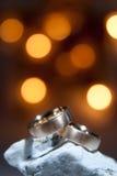 Ringen op rots Royalty-vrije Stock Afbeeldingen