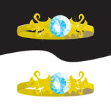 Ringen (vector) stock illustratie