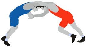 Ringend Freistil-Sport Stockfotos