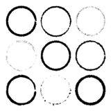 Ringenkader voor naadloos wordt geplaatst die stock illustratie