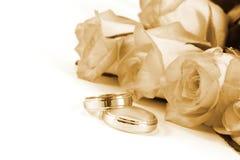 ringer att gifta sig för ro Royaltyfria Foton