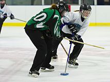 Ringette Royalty Free Stock Images