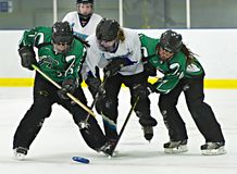 Ringette Royalty Free Stock Photos