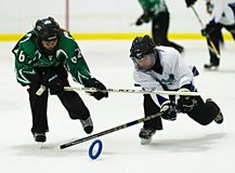 Ringette Stock Photo