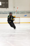 Ringette Player Stock Photography