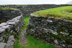 Ringfort, Leacanabuile,爱尔兰 库存图片