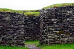 Ringfort, Leacanabuile,爱尔兰 免版税库存照片