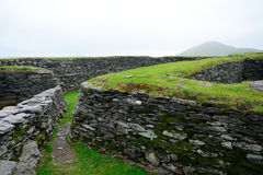 Ringfort, Leacanabuile, Ierland stock foto's